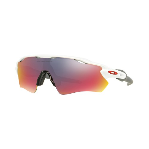 OAKLEY RADAR EV PATH POL WHT POSITIVE RED IRID