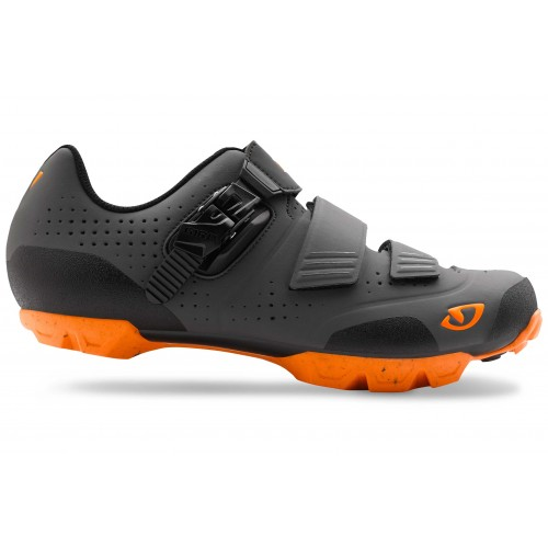 GIRO PRIVATEER R DARK SHADOW/ORANGE