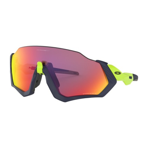 OAKLEY FLIGHT JACKET BLACK/GREEN PRIZM