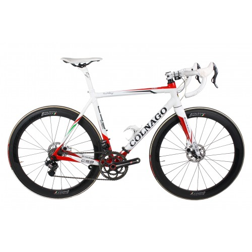 COLNAGO C59 DISC WHITE/RED