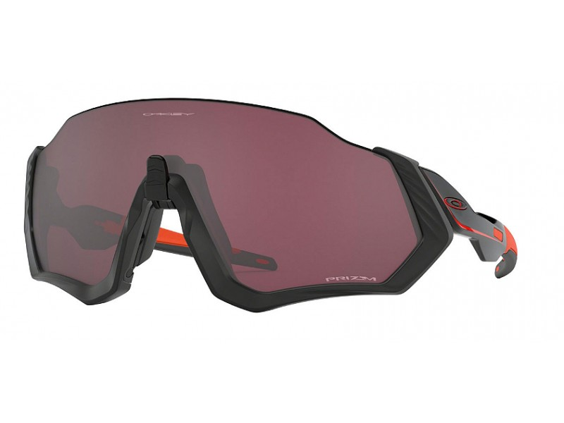 OAKLEY FLIGHT JACKET MATTE BLACK/PRIZM ROAD BLACK